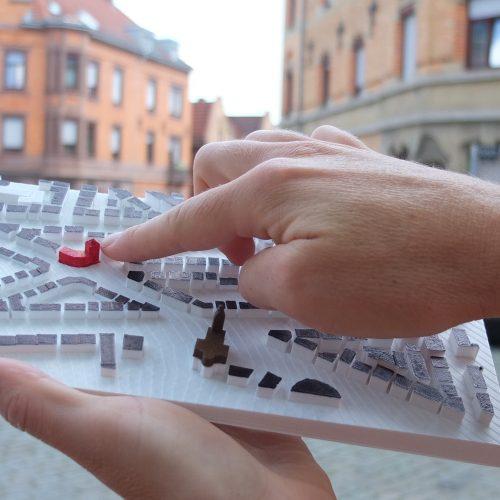 Algunos de nuestros modelos táctiles 3D
