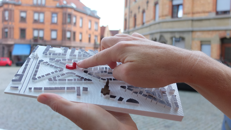 Modelo de impresión 3D de Stuttgart