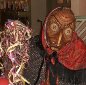 Witch mask of carnival celebrations in the Black Forest villages