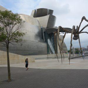 The Guggeheim Museum in Bilbao
