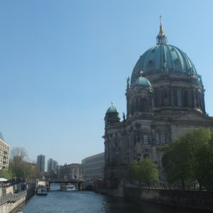 Berliner Dom and the river Spree