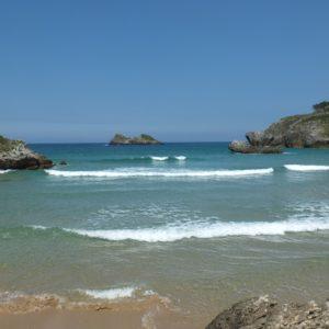 Idyllic beach at the Atlantic Ocean